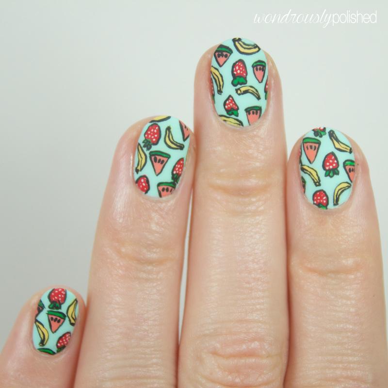 Fruit Nail Art Designs