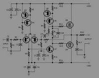 automotif wiring diagram 25 w audio amplifier mosfet irf530 irf9530