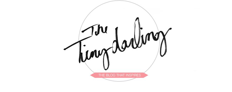 TINY DARLING // THE BLOG THAT INSPIRES
