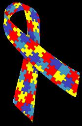 Wstążka solidarności z autyzmem