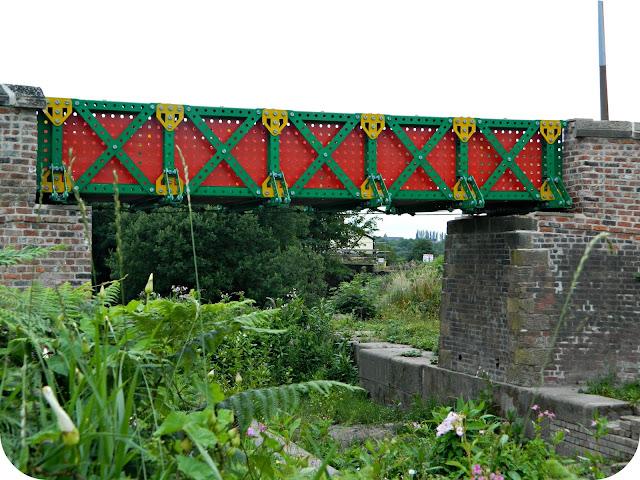 Meccano Bridge Prestolee Bolton Bury Canal