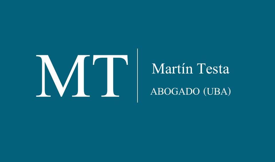 Dr. Martín  A. Testa