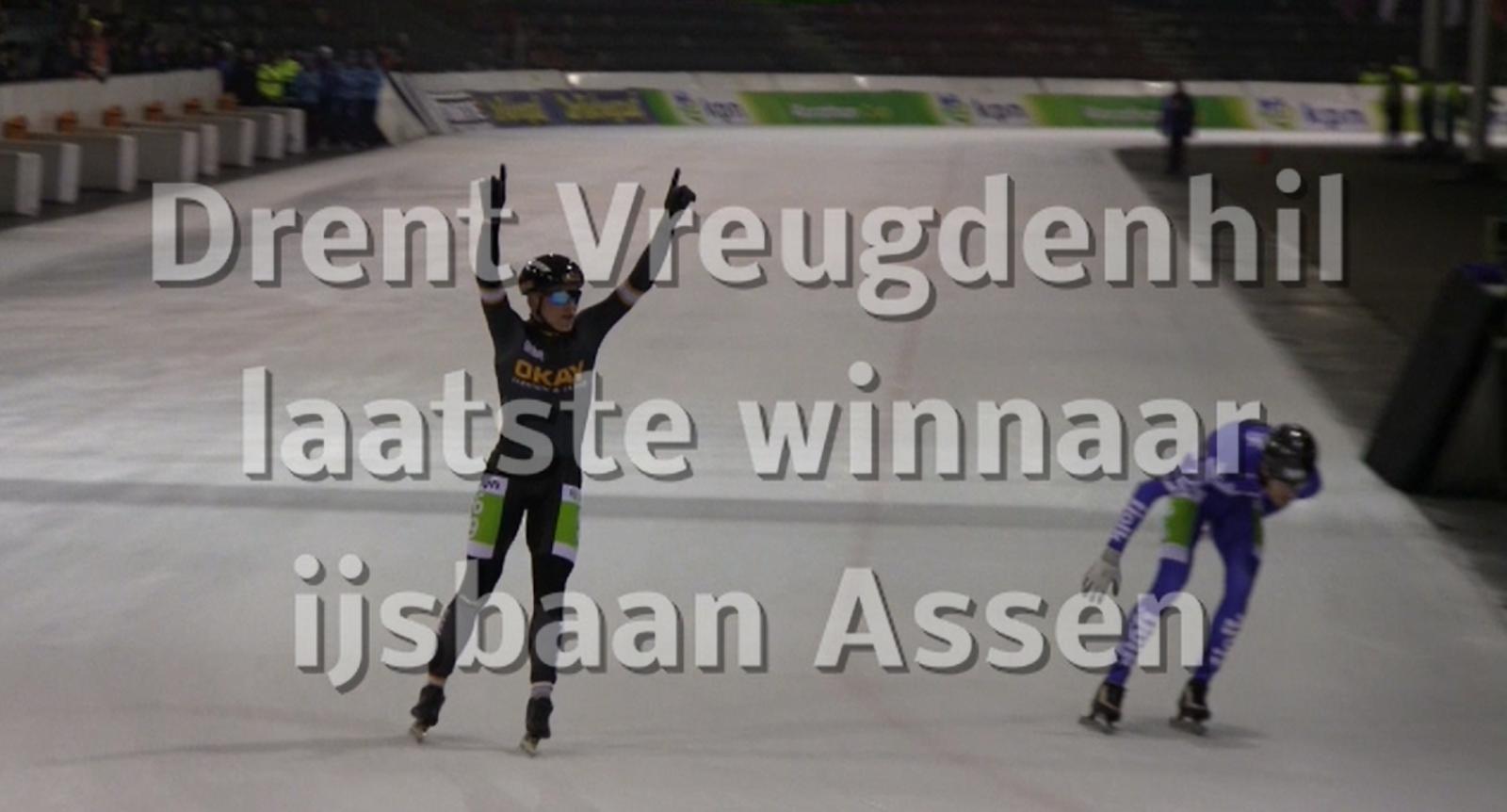 Filmpje zege Drent in Assen en Jan Maarten Heideman tot slot 23e