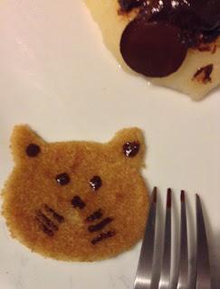 Mini-crêpes sans gluten sans lactose aperçu de la mise-en-bouche