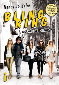 Estou Lendo: Bling Ring A Gangue de Hollywood