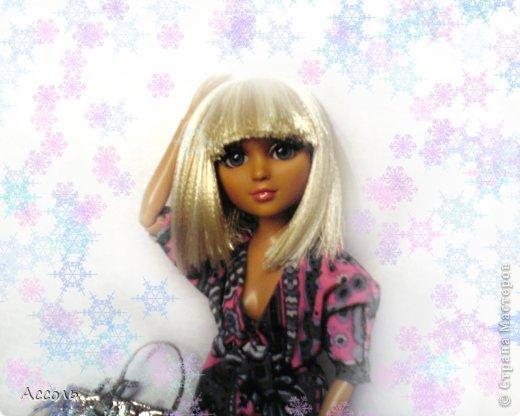 как сделать парик для куклы, мастер-класс