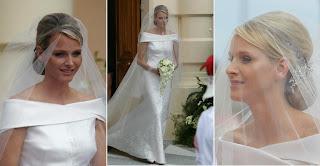 vestido de casamento de charlene Wittstock, wedding dress