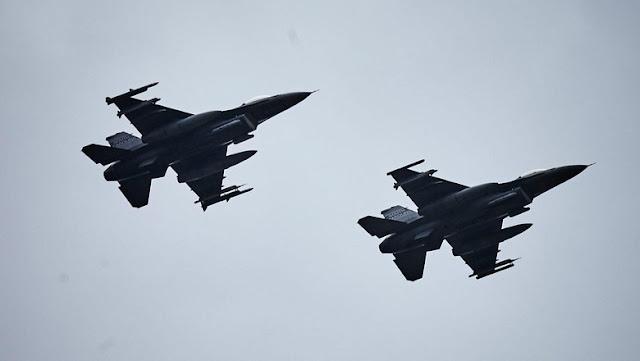 Jet Tempur F-16 AS Kena Tembak Taliban di Afghanistan
