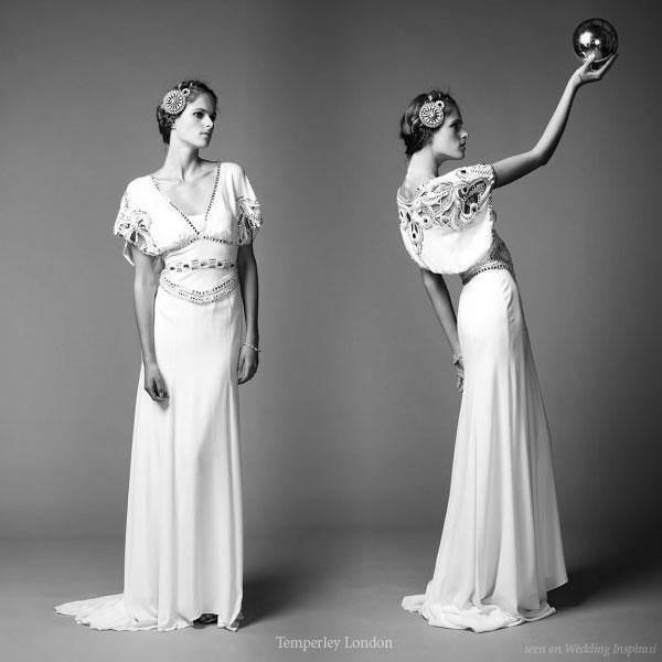 Temperley London Hippie Bridal Gown