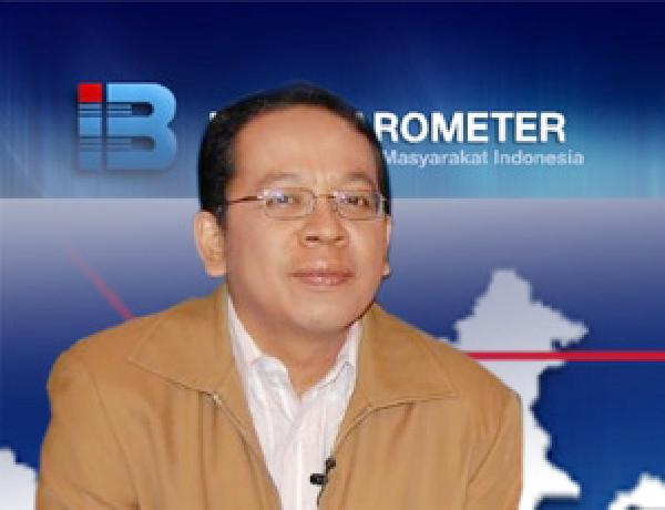 Direktur Eksekutif Indo Barometer M Qodari menyebut parpol yang tanpa