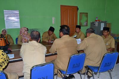 Kakankemenag Tanjungbalai Pimpin Rapat dengan Kepala Madrasah Negeri