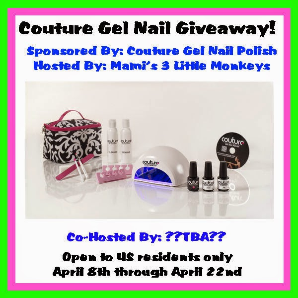 Rambling Thoughts' Blog Opp: Couture Gel Nail Giveaway