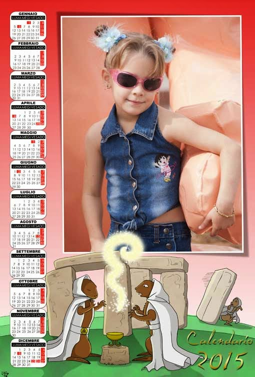 calendario bimbo 2015
