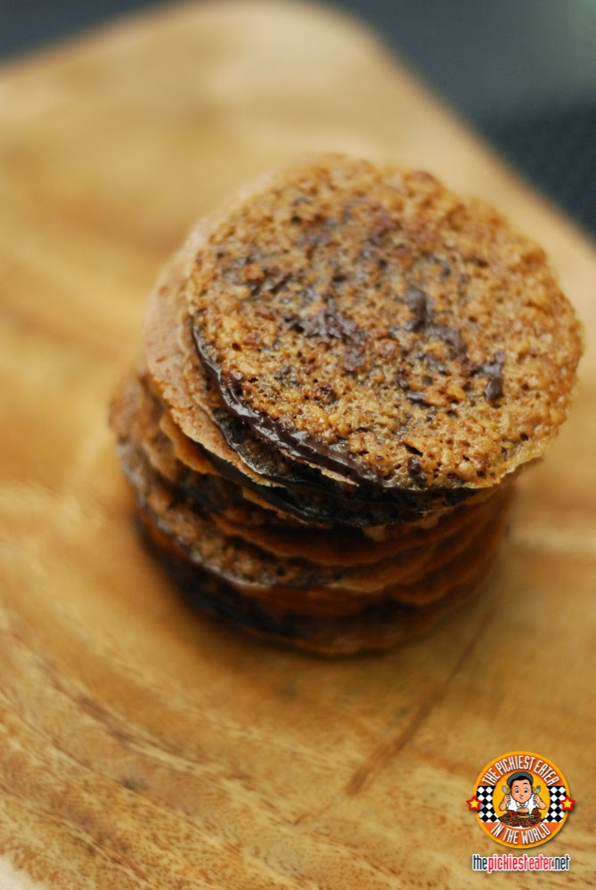 Lace Crisps Belgian Dark Chocolate
