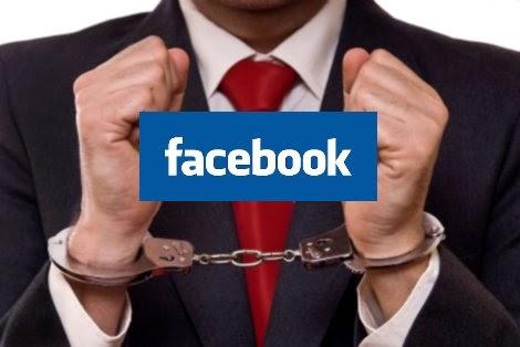 Status berbaur fitnah di Facebook Seorang lagi aktivis ditahan dibawah Akta Hasutan 1948