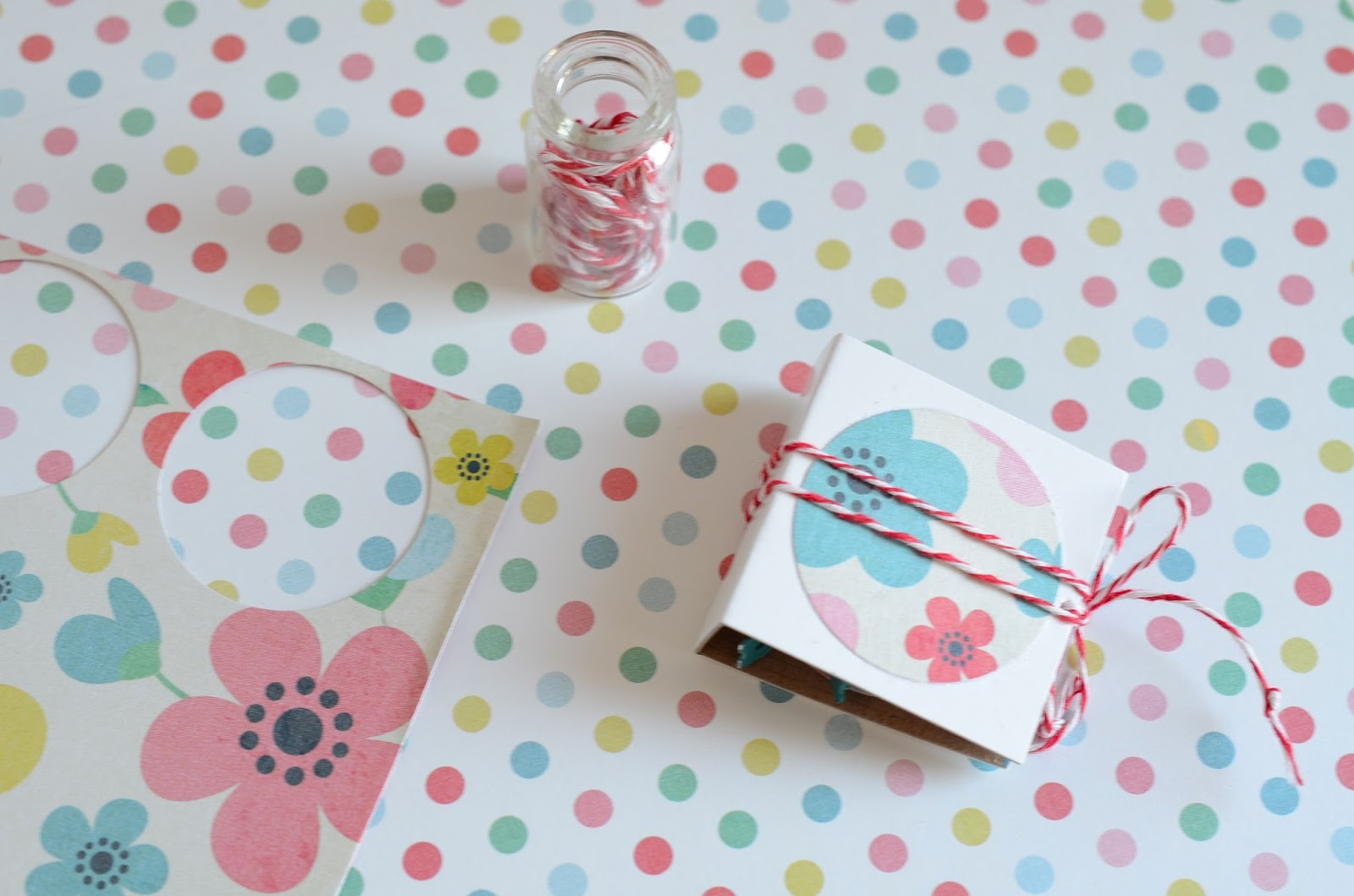 hand made craft: paper box