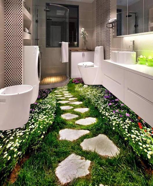Desain dan Dekorasi Lantai yang Unik dan Menakjubkan-16