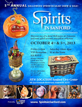 Check out some of the Spirits in Sanford artists in this fall's Art Doll Quarterly