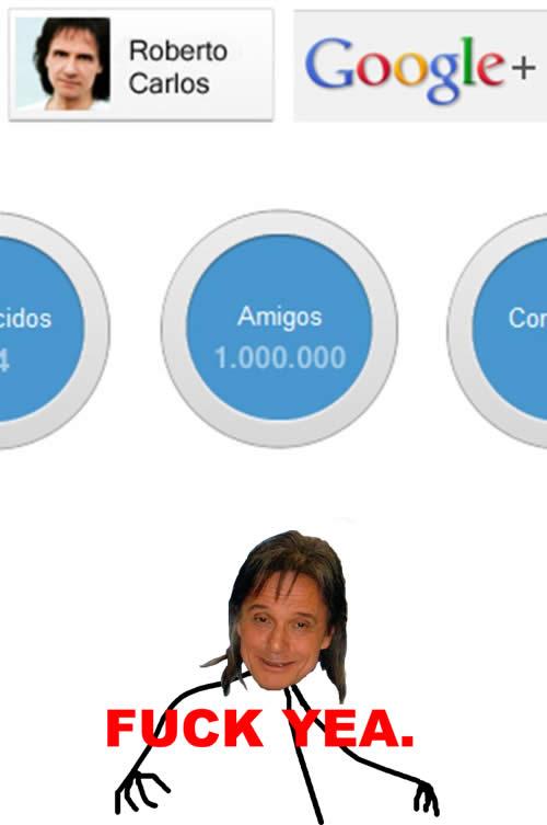 Perfil de Roberto Carlos no Google +