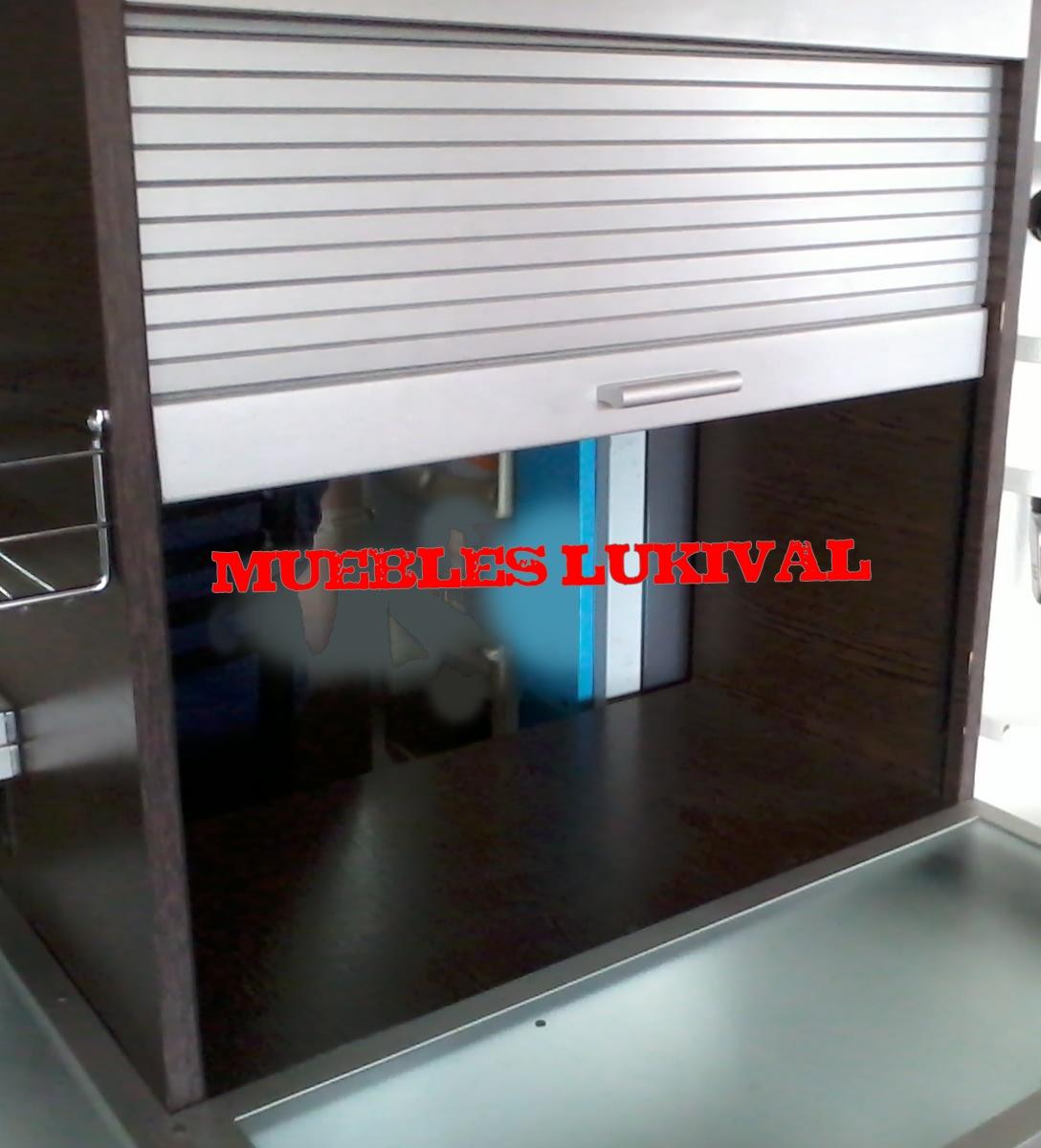 Muebles lukival muebles de cocina con aluminio - Mueble persiana cocina ...