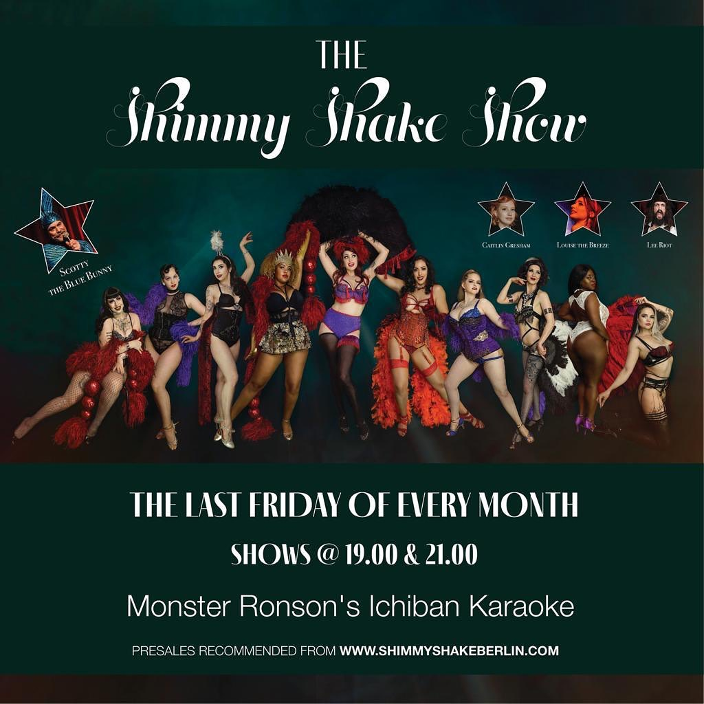 The Shimmy Shake Burlesque Show