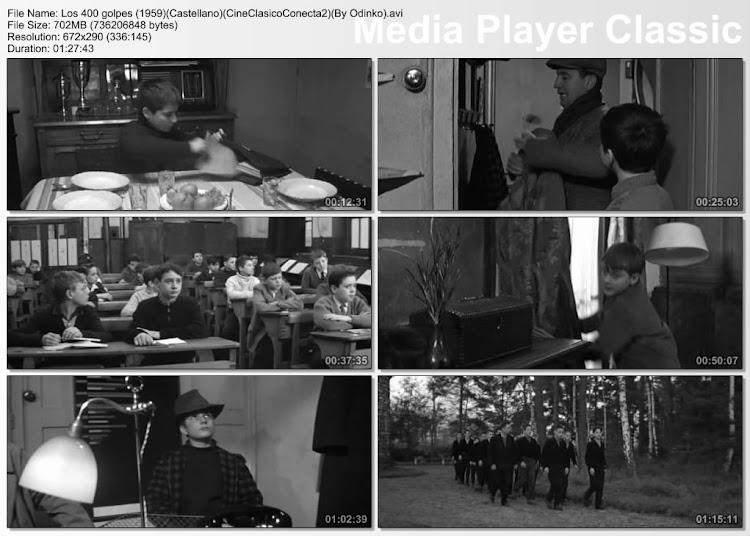 Los cuatrocientos golpes | 1954 | Les Quatre cents coups | Secuencias de la película