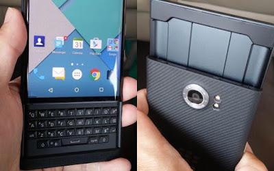Smartphone Android Blackberry Priv Pertama Kali