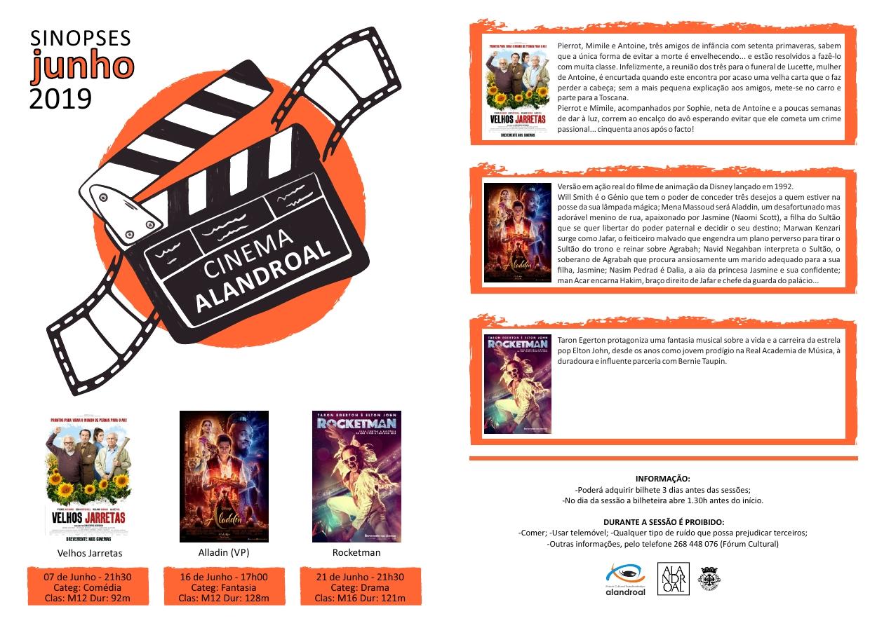 Cinema Alandroal - Junho de 2019.