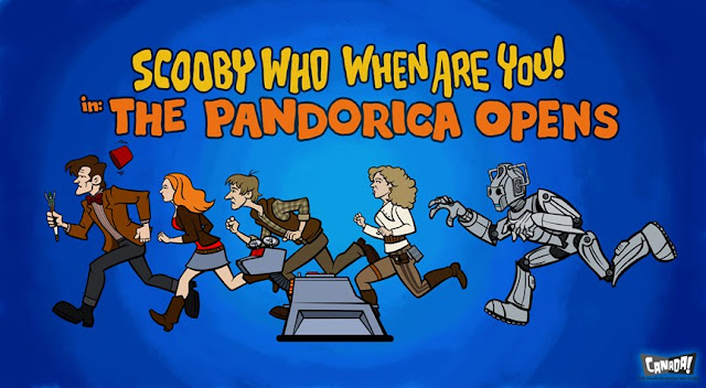 Doctor Who/Scooby-Doo mash-up by Bob Canada