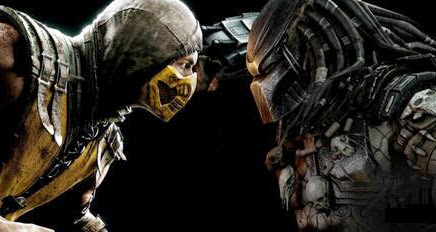 predator vs scorpion mortal kombat