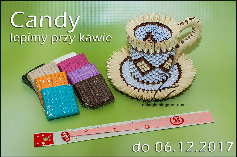 Candy przy kawie
