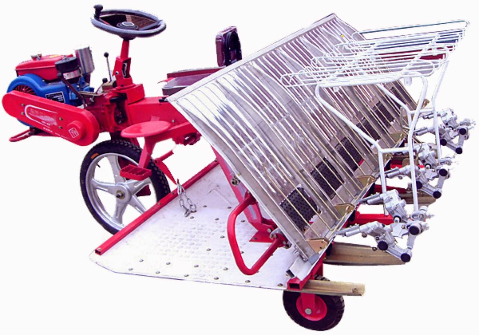 Mesin Tanam Padi Rice Transplanter Saam 2z 8238 Santoso Advance Paket Tudung 1 Pisau Dan Gearcase Ini Digunakan Untuk Membantu Melakukan Penanaman Bibit Dengan Jarak Kurang Lebih 238 Cm Kerja Cepat Efisien Karena Proses