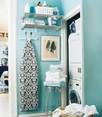 Office Decorating Ideas: Theme Inspiration: 10 Laundry room ideas!