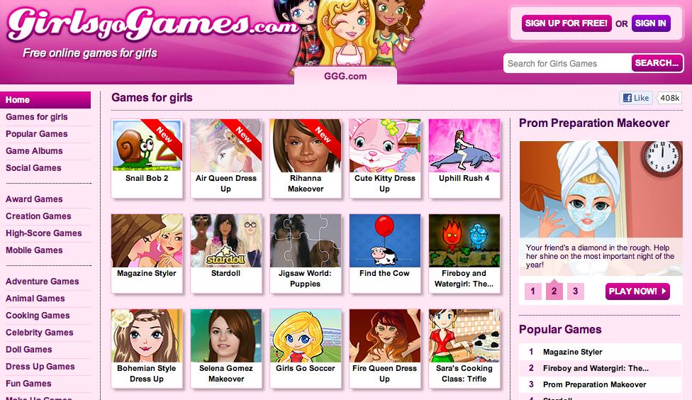 ggg.com go girl games