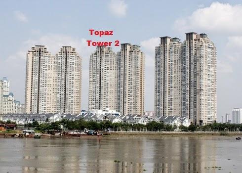 vị trí tháp căn hộ Topaz Tower 2