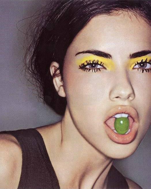 adrianna lima makeup. no makeup adriana lima.