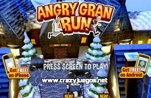 Jugar Angry Gran Run Christmas