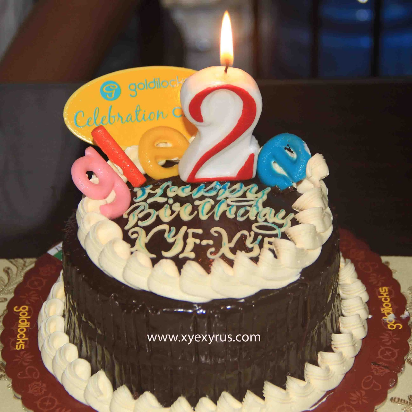 DeliciouslySpicy MOMents Gleeful Birthday Cake