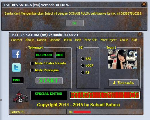 Download Inject TSEL BFS SATURA (tm) Veranda JKT48 v.1-Work 2015