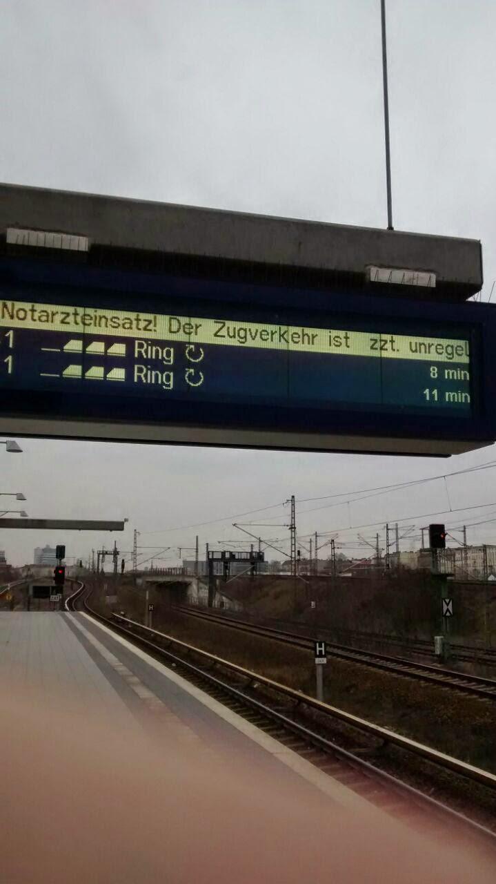 Berliner S-Bahn, Anzeige von Verspätungen
