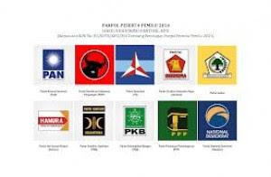 Daftar No Urut Parpol Peserta Pemilu 2014