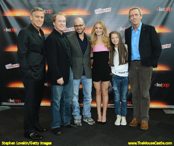 Tomorrowland panel, New York Comic Con