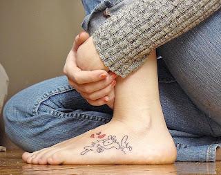 Tatuagem nos pés