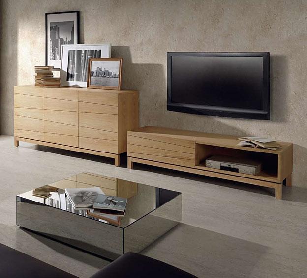 5 im genes de salones coloniales - Muebles de madera natural ...