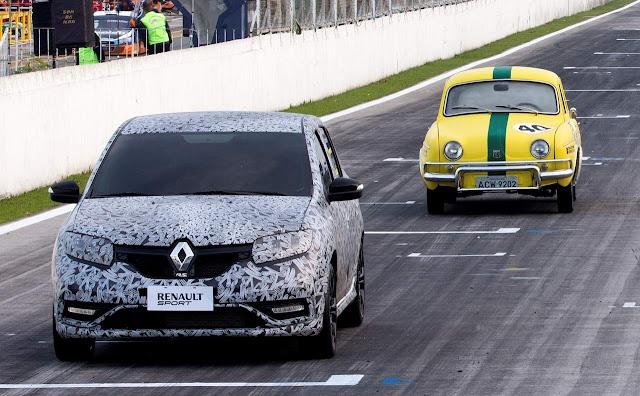 Novo Renault Sandero R.S. x Gordini