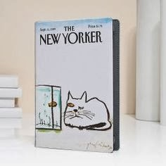 The New Yorker cat nook case