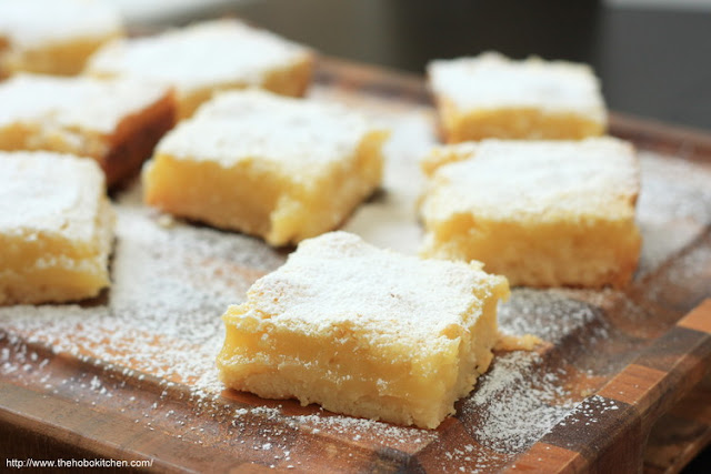 Featured Recipe | Lemon Bars from The Hobo Kitchen #lemon #SecretRecipeClub #spring #summer #citrus #recipe #dessert