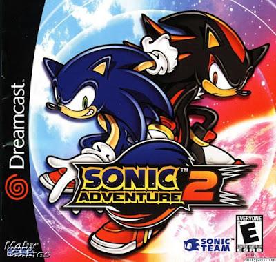 Capa Sonic Adventure 2