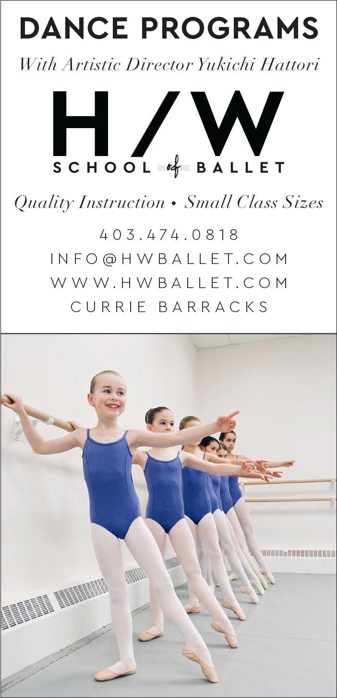 H W School of Ballet Yukichi Hattori