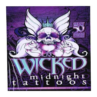 Wicked Midnight Tattoos Over 50 Temporary Tattoos